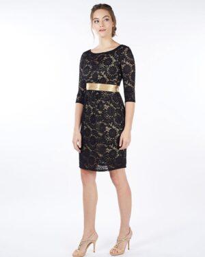 Contessa- varrukatega must pitsist kleit rasedale ja imetavale emale